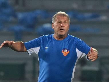 File photo of FC Goa coach Zico. AFP