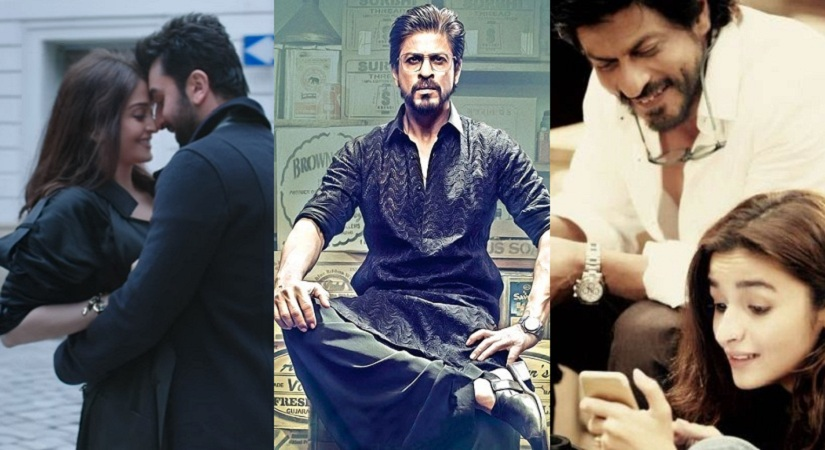 (L-R) 'Ae Dil Hai Mushkil', 'Raees' and 'Dear Zindagi'