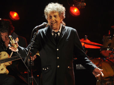 File image of Bob Dylan. AP