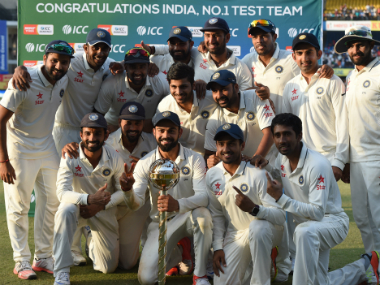 India's team effort ensured New Zealand's 3-0 rout. AFP