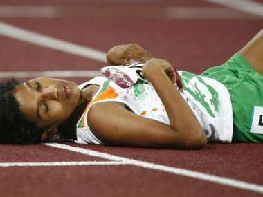 Jaisha had collapsed during the Olympics owing to dehydration. Reuters