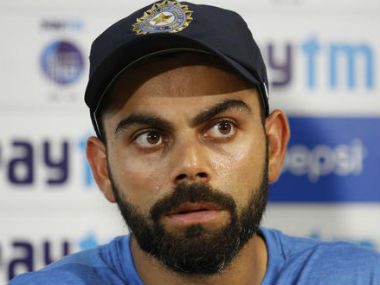 Kohli said controlling tough sessions was crucial. AP