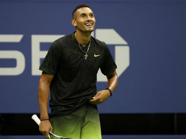 The volatile Kyrgios was receiving treatment as part of his rehabilitation. Reuters
