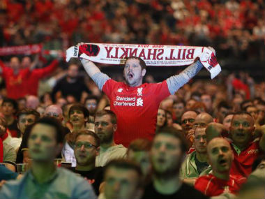 Last season, Liverpool were fined by Uefa for disturbance by their fans. Reuters