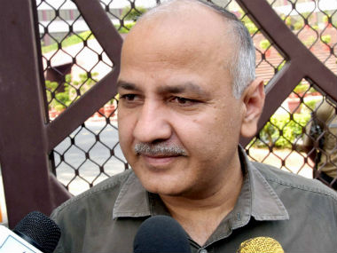 File image of Manish Sisodia. PTI