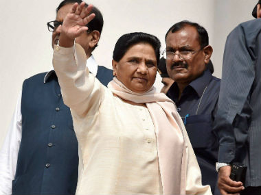 BSP supremo Mayawati at a function on the death anniversary of Kanshi Ram. PTI