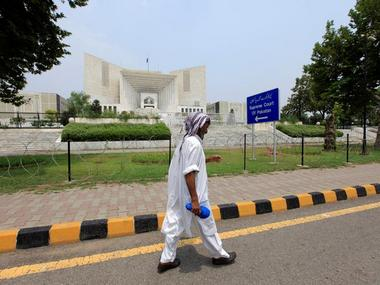 Pakistan's Supreme Court building in Islamabad. Reuters