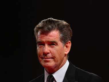 Pierce Brosnan. AFP