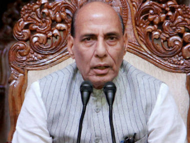Union Home Minister Rajnath Singh. File photo. PTI