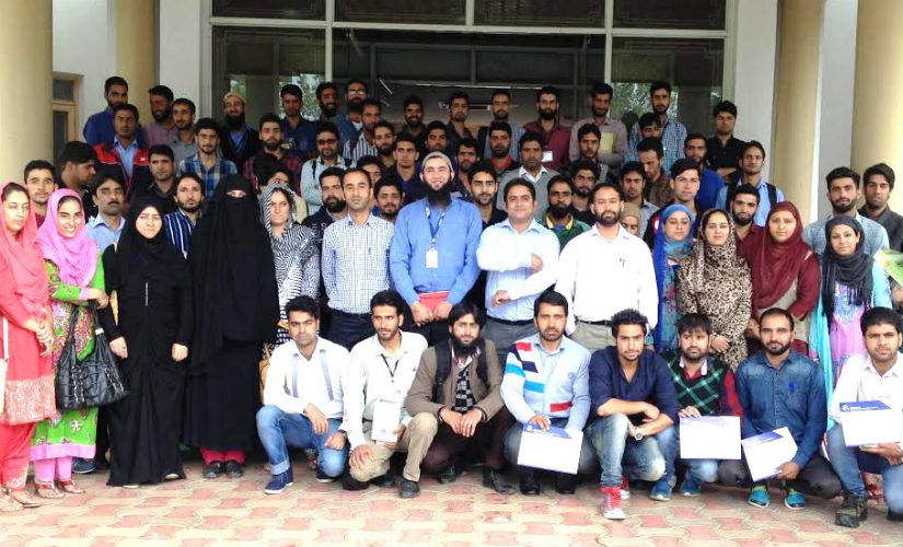 These 78 aspiring entrepreneurs passed out EDI after completing the three-week training programme. Image courtesy: Sameer Yasir