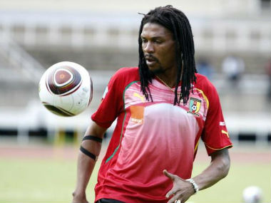 File photo of former Cameroon captain Rigobert Song. Reuters