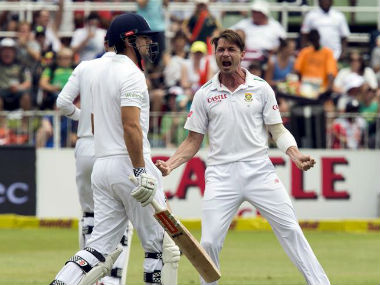 Dale Steyn (right) will be vital for the Proteas in the Test series Down Under. Reuters