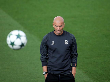 Real Madrid's current slump in form has put Zidane under pressure. Reuters