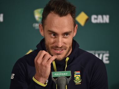 South African captain Faf du Plessis has been found guilty of ball-tampering for the second time. AFP
