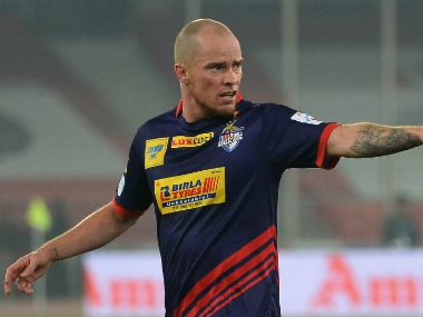 File image of ATK's Iain Hume. AFP