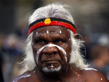 An Aboriginal performer. Representational image. Reuters