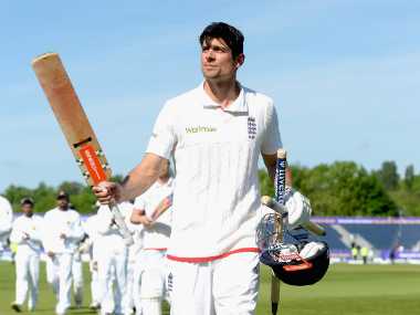 Alastair Cook is the greatest English batsman, at least as far as statistics are concerned. Getty Images