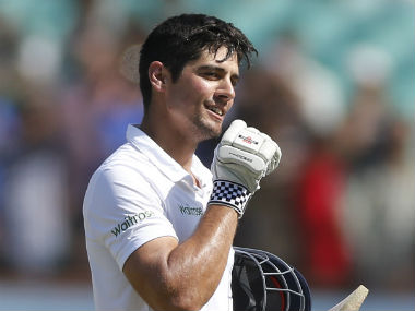 File picture of Alastair Cook. AP