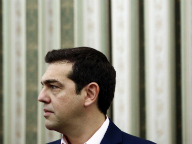 File image of Greek Alexis Tsipras. AFP