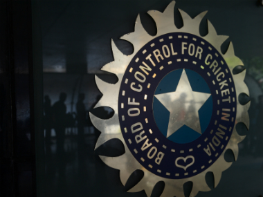 File photo of the BCCI logo. AFP