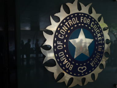 File image of the BCCI logo. AFP