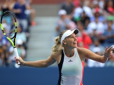 File photo of Caroline Wozniacki of Denmark. Reuters
