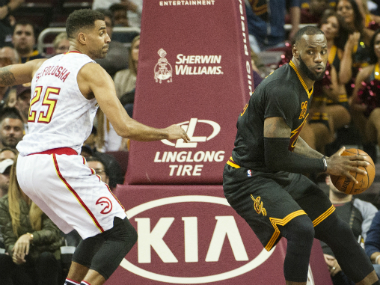 The Cavaliers' unbeaten run came to an end with their loss to the Hawks. AP