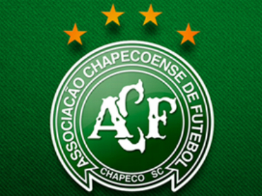 The Chapecoense Real crest. Image credit: Twitter/@CapecoenseReal