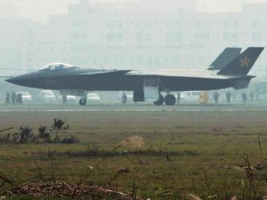 An aircraft that is reported to be a Chinese stealth fighter, Chengdu J-20. Reuters