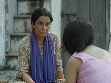 Tisca Chopra in a still from 'Chutney', the short film
