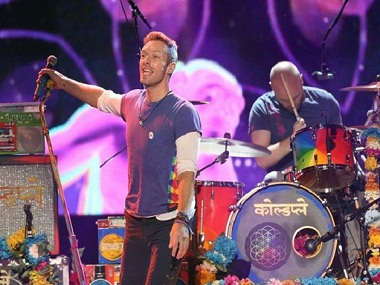 Coldplay. AP/File photo