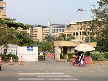 DY Patil Hospital in Nerul. Image courtesy: Deepak Salvi