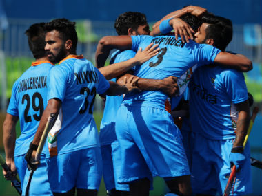 File photo of the Indian men's hockey team. Getty Images