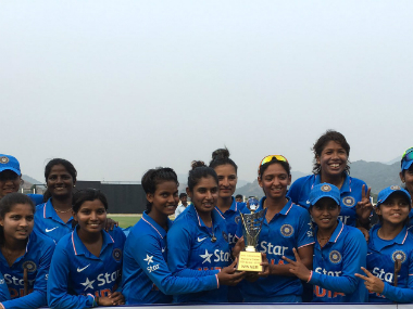 File image of the India women's cricket team. Twitter/BCCIDomestic