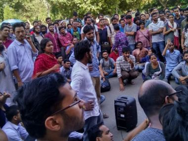 The current crisis in JNU, of missing student Najeeb Ahmed, has unveiled the hidden agendas of student politics. Image courtesy: News18