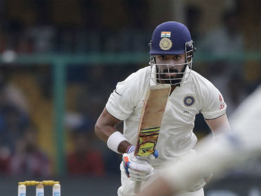 KL Rahul suffered a hamstring niggle in the first Test against New Zealand at Kanpur. AP