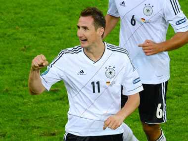 File photo of Miroslav Klose. Getty Images