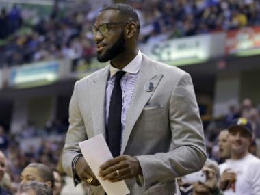 File image of LeBron James. AP