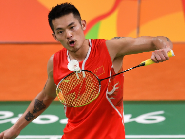File image of Lin Dan. AFP