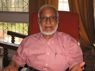 A file image of MGK Menon. Courtesy: Dinesh C Sharma