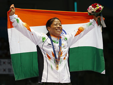 File photo of India''s MC Mary Kom. AP