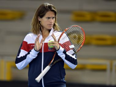 File photo of Amelie Mauresmo. AFP