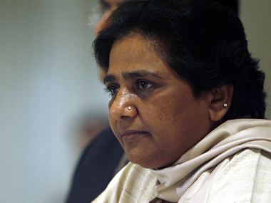 """Chief Minister of the northern Indian state of Uttar, Pradesh Mayawati, attends a news conference in New Delhi July 20, 2007. Mayawati's party, Bahujan Samaj Party (BSP), a party of """"untouchables"""", is in power in India's most populous state, Uttar Pradesh, the first time a political group championing Hinduism's lowest caste has headed a majority government in any Indian state. REUTERS/Tanushree Punwani (INDIA)"""