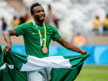 File image of Mikel Obi. AFP