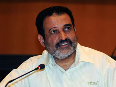 TV Mohandas Pai. Reuters