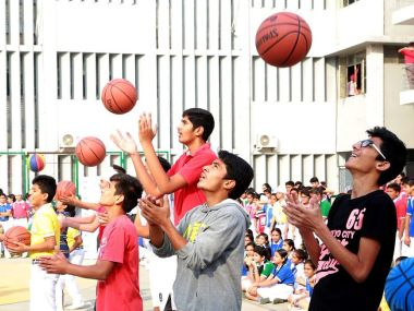 NBA to launch basketball academy in New Delhi. Twitter@NBAIndia