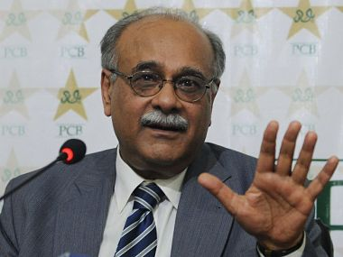 File photo of Najam Sethi, former chairman of the Pakistan Cricket Board (PCB). AFP
