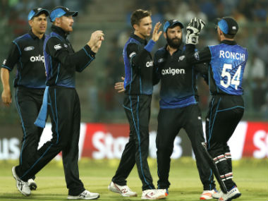 File photo of New Zealand ODI team. AP