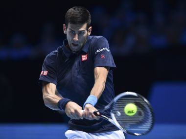 Novak Djokovic. AFP