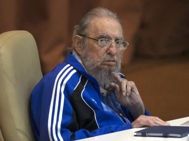 File image of Fidel Castro. AP